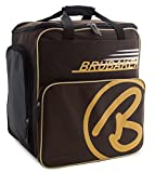BRUBAKER Skischuhtasche Helmtasche Skischuhrucksack Super Champion Braun Sand - Limited