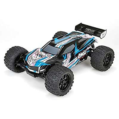 Ten-mt Rtr, Avc: 1/10 4wd Black/blue