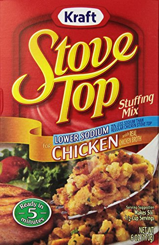 Stove Top Low Sodium Stuffing Mix, Chicken, 6 oz (Chicken Stuffing compare prices)
