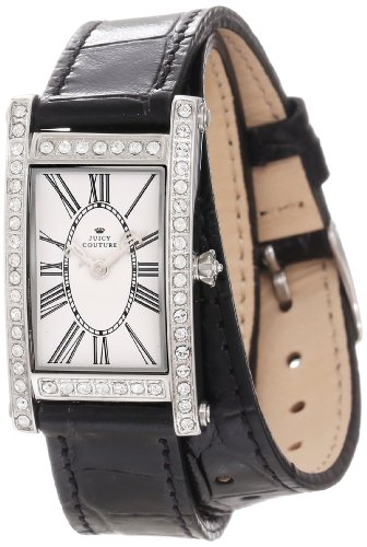 Juicy Couture Women's 1901042 Royal Double Wrap Leather Strap Watch