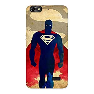 Stylish Premier Day Walks Multicolor Back Case Cover for Honor 4C