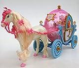 Brigamo 550 - Princess Fairytale Kutsche in Kürbisform mit Beleuchtung UND Elektrischem Pferd, voll beweglich, inkl. Sound thumbnail