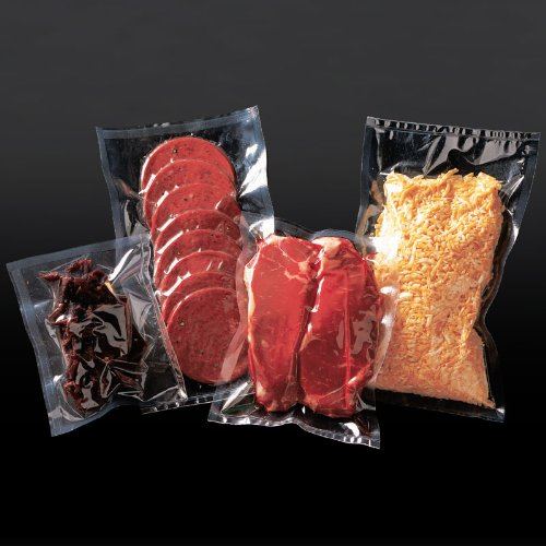 """16"""" X 24"""" Poly-Nylon Vacuum Sealer Bags / Pouches (500 Pack) 3 Mil For Chamber & Nozzle Sealers (Vb3-1624-500) front-164496"""