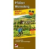 Wanderkarte Pfälzer Weinsteig: Mit Ausflugszielen, Einkehr- & Freizeittipps, wetterfest, reißfest, abwischbar, GPS-genau. 1:25000