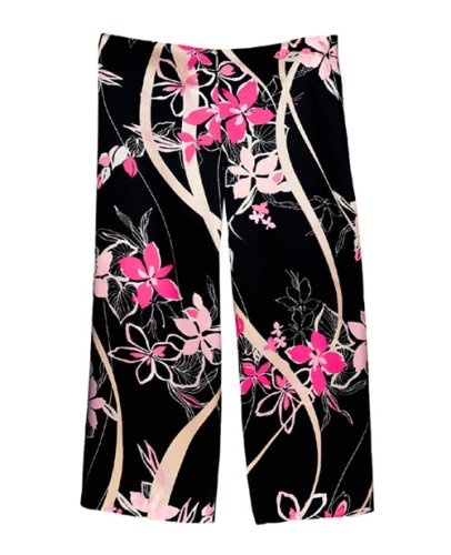 Buy NEW SALE ITEM – Black Floral Gauchos