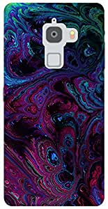 The Racoon Grip abstract oil hard plastic printed back case / cover for Letv Le Max