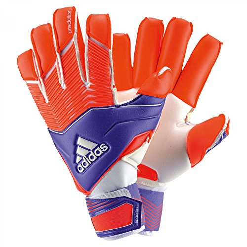adidas, Guanti da portiere Unisex adulto Predator, Blu (Night Flash S15/Solar Red/White), 9