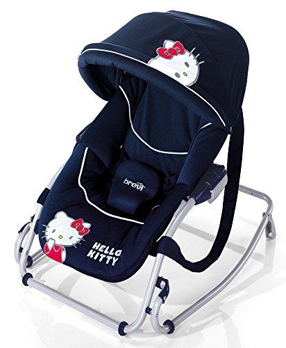 Brevi 558HK Baby Rocker Sdraietta, Disegno Hello Kitty, Blu (023)