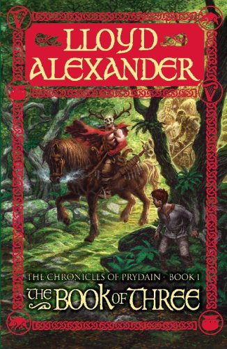Cover of The Book of Three (The Chronicles of Prydain Book 1)