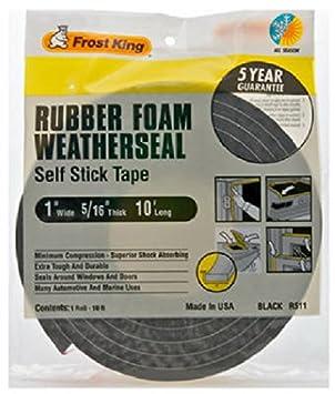 Foam Self Adhesive Window Door Seal Strip Rubber Tape Weatherstrip SF Sales
