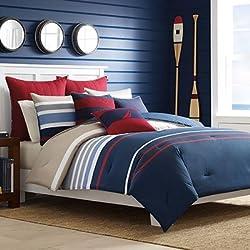 Nautica Bradford Reversible Comforter Set, Full/Queen