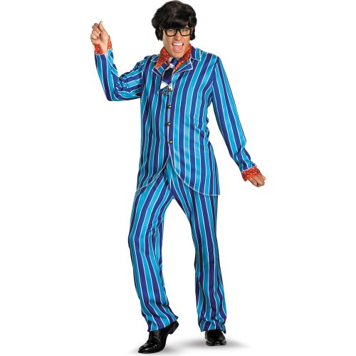 Disguise Inc Men's Austin Powers Carnaby Street Suit Deluxe Adult Costume
