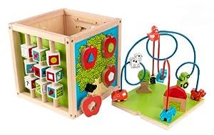 Kidkraft Bead Maze Cube Learning Puzzle