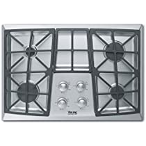 Viking Stainless Steel Sealed Burner Cooktop DGVU2004BSS