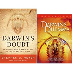 Darwin's Doubt & Darwin's Dilemma Book & DVD Set