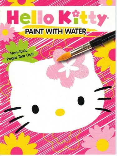 Hello Kitty Paint with Water Book (Assorted, Designs Vary) by Sanrio