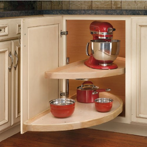 Rev-A-Shelf RS4WLS882.38.570 38 in. Half Moon 2 Shelf