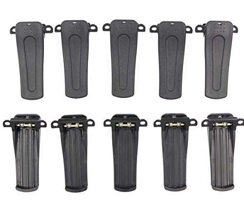 GooDeal 10pcs Belt Clip for RETEVIS H-777 BF-666S, BF-777S,BF-888S model Radio +Tracking