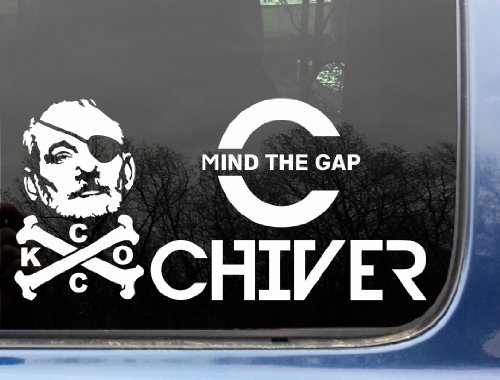 Kcco ultimate decal set ii mind the gap chiver bfm pirate funny chive die cut vinyl