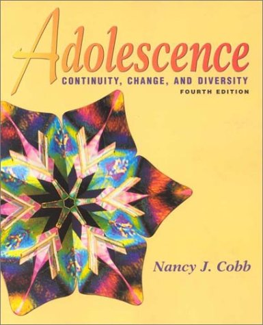 Adolescence: Continuity, Change, And Diversity front-775296