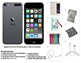 Apple-iPod-Touch-6G-16GB-Space-Grau-Extra-Zubehr-NEUES-MODELL-Juli-2015
