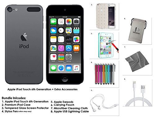 apple-ipod-touch-32gb-space-grey-extra-accessories-6th-generation-new-release-july-2015