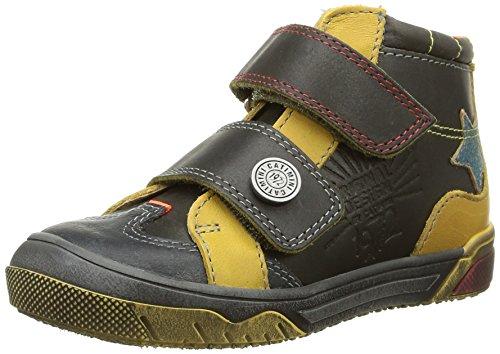 Catimini - Capelan, Sneakers per bambini e ragazzi, Multicolore (Multicolore (Vte Carbone/Jaune Dpf/Dover)), 31