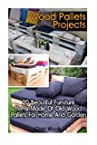 img - for Wood Pallets Projects: 20 Beautiful Furniture Items Made Of Old Wood Pallets For Home And Garden: (Household Hacks, DIY Projects, DIY Crafts,Wood ... things, recycled crafts, recycle reuse renew) book / textbook / text book
