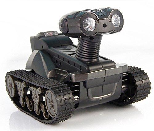 BrightTea® Remote Camera Tanks Android&ios Wifi Smart Wali Spy Robot Remote Control Toy Tanks (Remote Control Spy Robot compare prices)