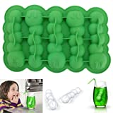 Water & Wood Caterpillar Chocolate Mold Mould Maker Cake Ice Tray Jelly Party Freeze Silicone