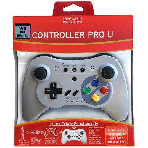 Pro Controller U for Wii and Wii U - Classic