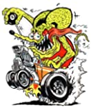 Rat Fink Coupe Decal