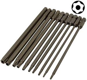 enkay 3036 c tamper proof bit set carded 10 piece screwdriver bit sets. Black Bedroom Furniture Sets. Home Design Ideas