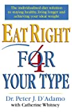 Dr Peter D'Adamo Eat Right 4 Your Type