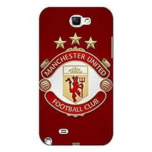 Jugaaduu Manchester United Back Cover Case For Samsung Galaxy Note 2 N7100