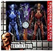 "NECA The Terminator RoboCop vs. The Terminator Series 1 Endoskeleton Assault Exclusive 7"" Action Figure 2-Pack"