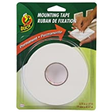 Duck Brand 394666 3/4-Inch-by-15-Feet Double Sided Foam Mounting Tape