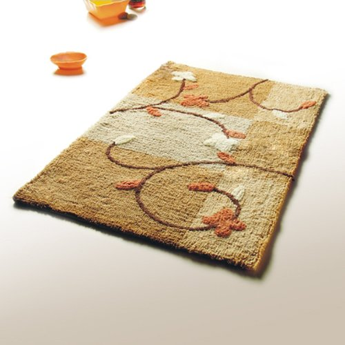 Naomi - [Summer Cherry] Luxury Home Rugs (19.7 by 31.5 inches)