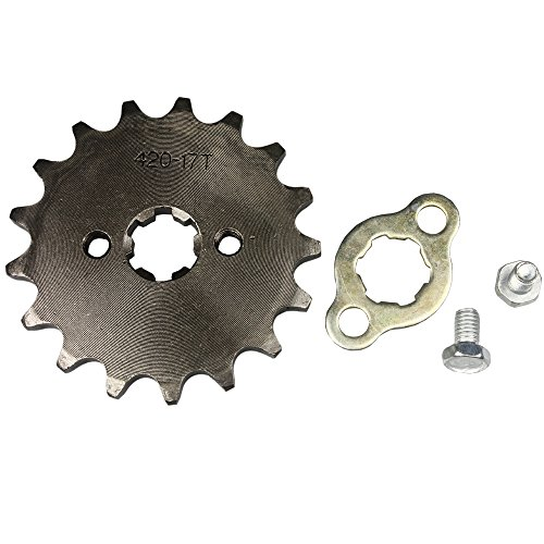 Wings Sprocket Front 420-17T 17mm Motorcycle ATV Dirtbike