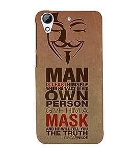 EPICCASE Brilliant quote Mobile Back Case Cover For HTC Desire 728 (Designer Case)