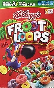 Amazon.com: Froot Loops Cereal, Sweetened Multigrain, 17