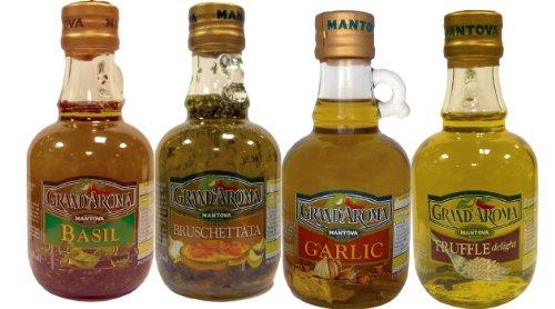 Mantova bruschetta truffle garlic basil set of 4 bottles 8 5 oz each food beverages tobacco - Unknown uses for vegetable oil ...