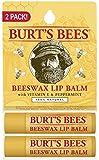 Burt's Bees Lip Balm, 2 Count