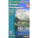 (b) posets perdiguero - mapa y guia alpina 1:25.000 (Mapa Y Guia Excursionista)