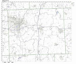 Calhoun County - Michigan Zip Code Boundary Map (MI)