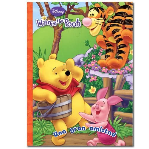 Pooh 96 pg Coloring Book In Spanish - 1