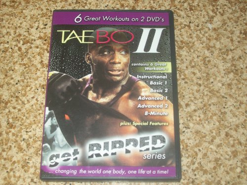 Taebo II: Get Ripped Complete 6 Workouts [DVD] [Region 1] [US Import] [NTSC]
