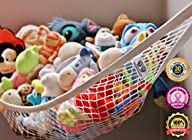 MiniOwls Storage Hammock Large Toy Organizer (also comes in XL) High Quality De-cluttering Solution…