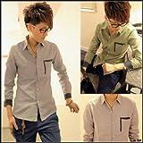 Ltd.Anthem ドット カフス シャツ ワイシャツ Yシャツ ドレスシャツ カジュアル アパレル メンズ ファッション 服