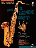 Music Minus One Tenor Saxophone: French & American Sax Quartets (1596156147) by Boccherini